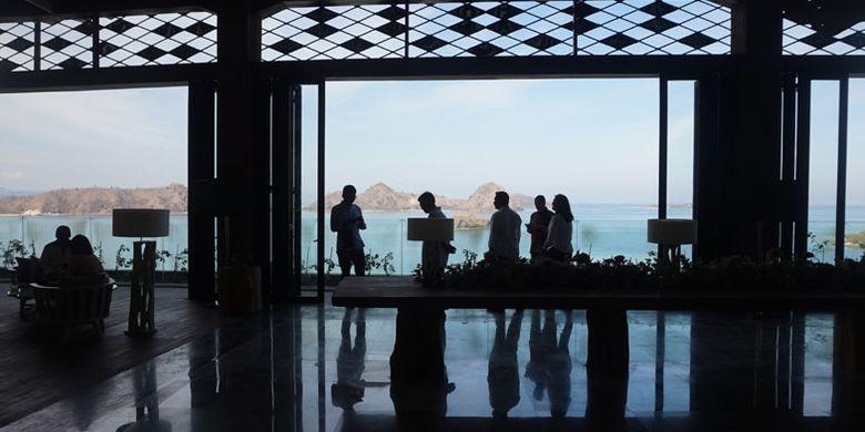 Ayana Komodo Resort di Pantai Waecicu, Labuan Bajo, Kabupaten Manggarai Barat, Nusa Tenggara Timur, Sabtu (15/9/2018).