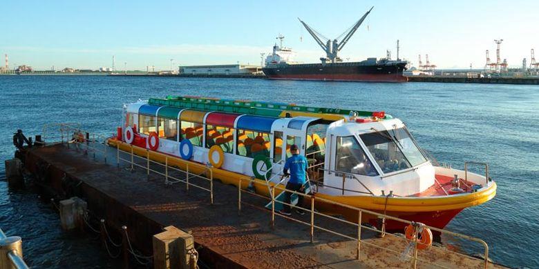 Sejak Oktober 2017, ada cara lain menikmati pemandangan di Nagoya, Jepang, yakni kapal feri yang diberi nama Cruise Nagoya.