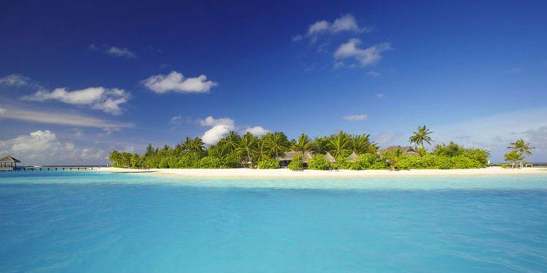 Naladhu Private Island di Maladewa.