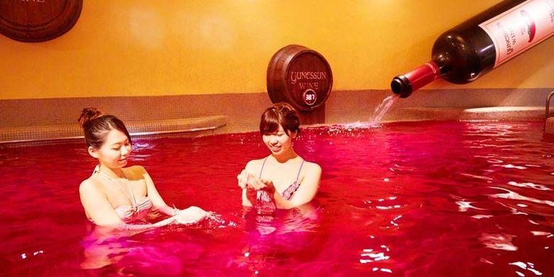 Wine-buro merupakan pemandian air panas atau onsen di Hakone, Tokyo, Jepang yang dicampur dengan red wine. Pemandian ini katanya memiliki khasiat untuk mempercantik kulit.