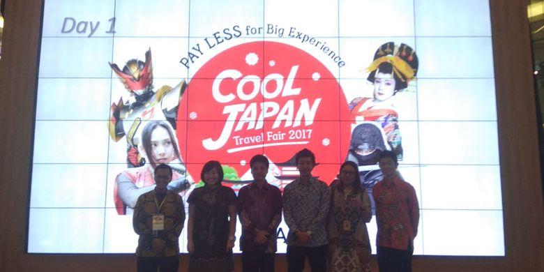 Cool Japan Travel Fair 2017 digelar 7-10 September 2017 di Atrium Utama Mal Taman Anggrek, Jakarta. Ada beragam promo yang ditawarkan selama pameran wisata yang diselenggarakan oleh travel agent H.I.S. Travel Indonesia.