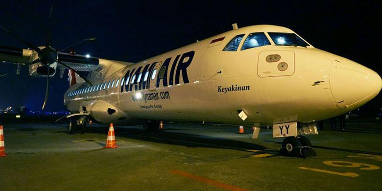 Pesawat ATR 72-600 NAM Air.
