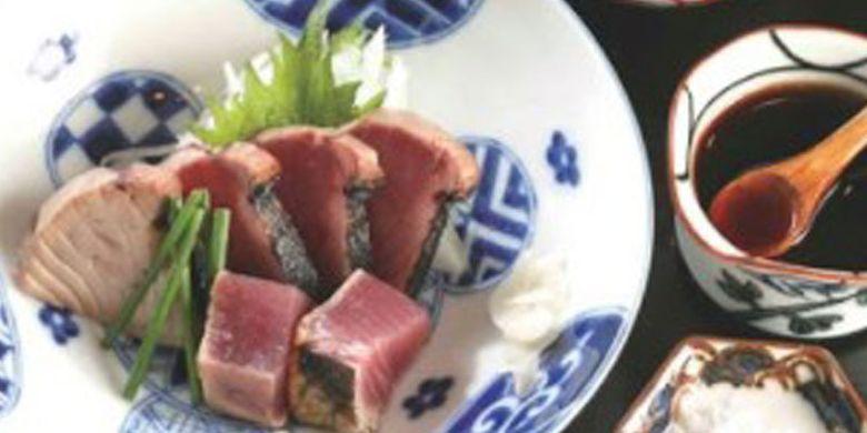 Restoran Ginza Ibuki. Restoran peraih gelar Michelin dengan menu masakan Jepangnya ini menawarkan set makan siang seharga mulai dari 1.404 Yen.