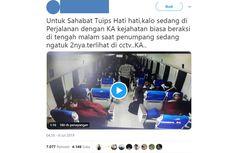 Viral Video Pencurian di Kereta Eksekutif, PT KAI Sebut Kejadian Tahun 2017