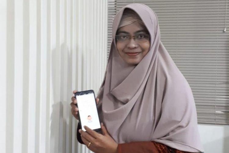Medhanita Dewi Menanti, dosen IPB asal Banyuwangi yang menciptakan aplikasi Madsaz yang bisa menerjemahkan tangisan bayi.