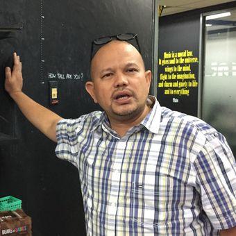 Ketua Umum Persatuan Radio Siaran Swasta Nasional Indonesia (PRSSNI) DKI Jakarta M Rafiq