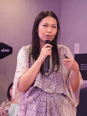 Putri Silalahi,  Communication Manager Instagram Asia Pasific,