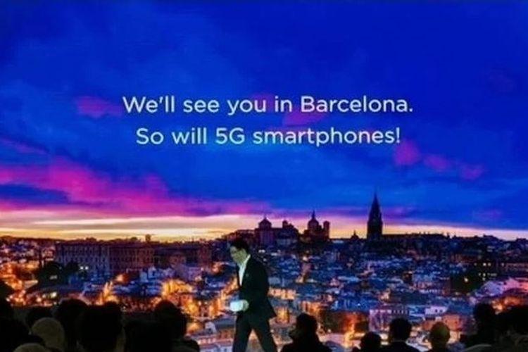 Ilustrasi Bocoran Informasi 5G Huawei di MWC 2019