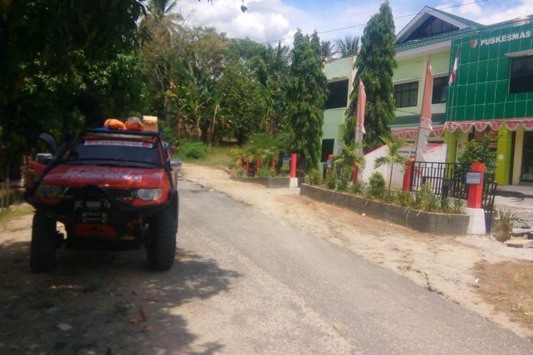 Kegiatan IOF untuk membantu korban bencana di wilayah Sulawesi Tengah