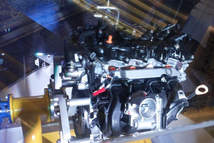 Mesin Daihatsu All New Terios yang diluncurkan di Jakarta, Kamis (23/11/2017)
