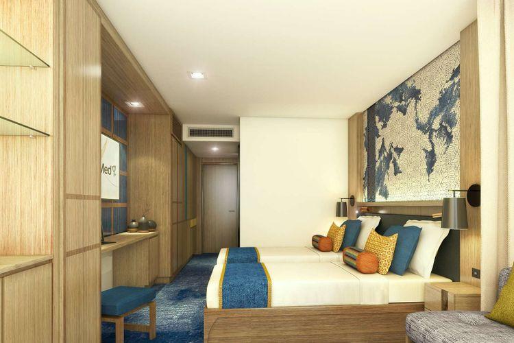Kamar di Club Med Sahoro.
