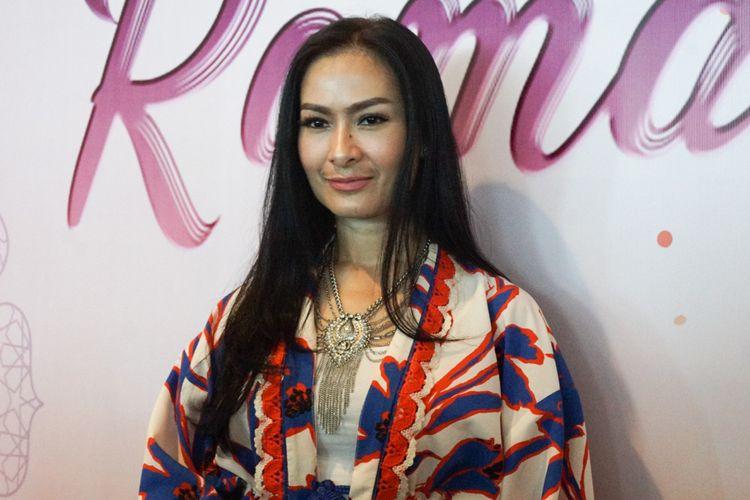 Iis Dahlia ditemui dalam jumpa pers Berkah Cinta Ramadhan di MNC TV, Kebon Jeruk, Jakarta Barat, Rabu (9/5/2018).