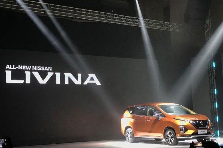 All New Nissan Livina dengan platform Xpander