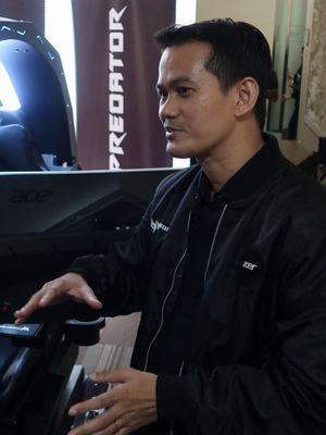 Presales Manager Acer Indonesia Dimas Setyo.