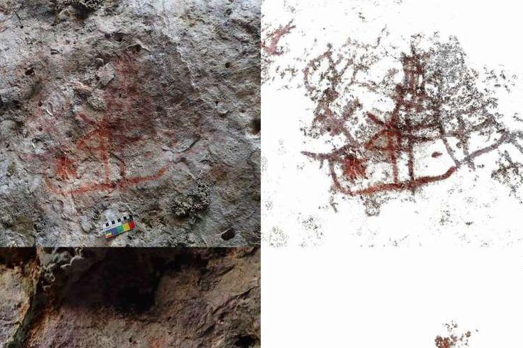 Lukisan gua mengungkap kedekatan sejaran Indonesia dan Timor Leste