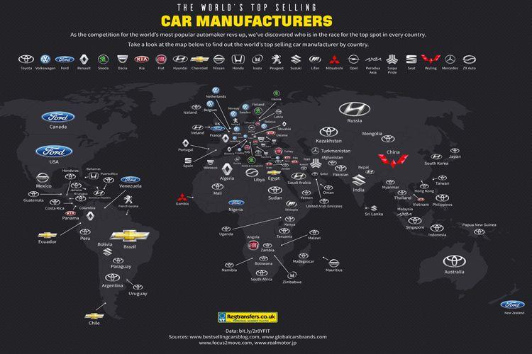 Penjualan Toyota tertinggi di 49 negara