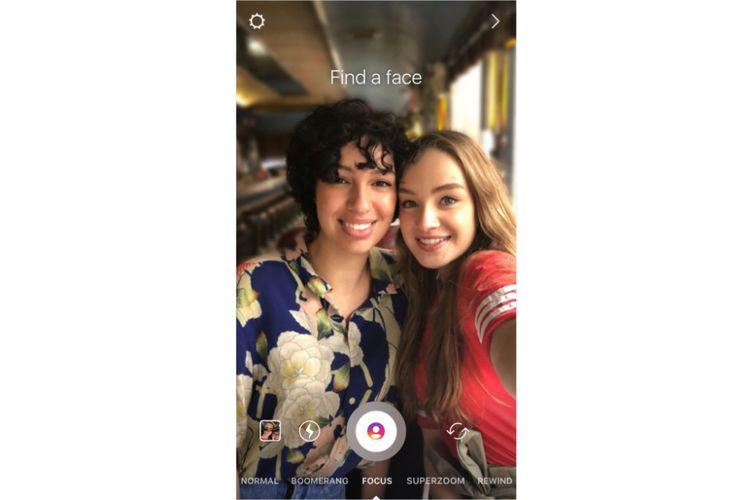 Fitur baru Instagram stories untuk menghasilkan foto bokeh langsung dari Instagram