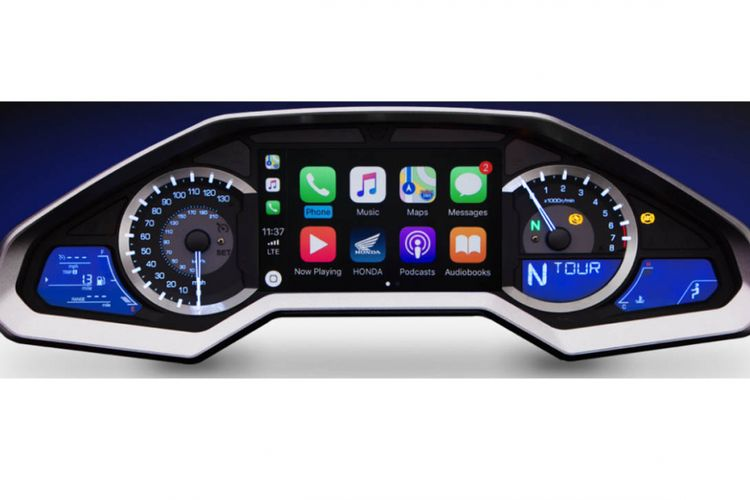CarPlay di motor