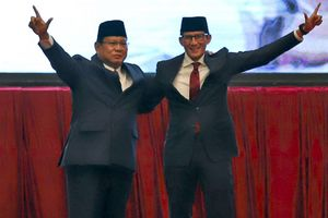 """Elektabilitas Prabowo-Sandiaga Naik, Ini Tiga Penyebabnya Menurut Litbang """"Kompas"""""""