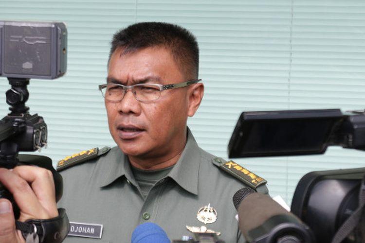 Kapendam II/Sriwijaya Kolonel Inf Djohan Darmawan memberikan keterangan terkait adanya dugaan oknum TNI yang terlibat kasus pembunuhan.