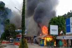 Kerusuhan Fakfak, Pasar Thumburuni Dibakar, Brimob Dikerahkan
