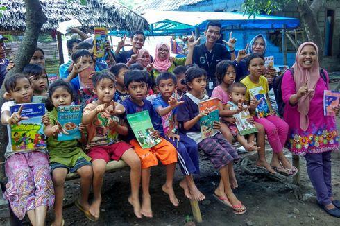 Cerita Nursyida Syam Ajak Ibu dan Anak di Kaki Rinjani Gemar Membaca