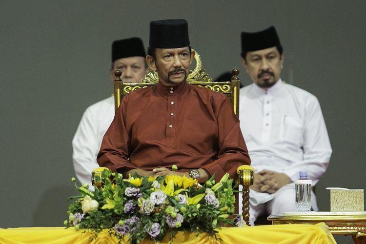 Sultan Brunei Hassanal Bolkiah.