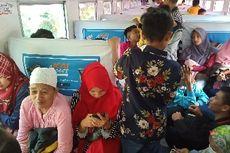 Kereta Api Padang-Naras Mogok di Tengah Jalan, Ratusan Penumpang Terlantar