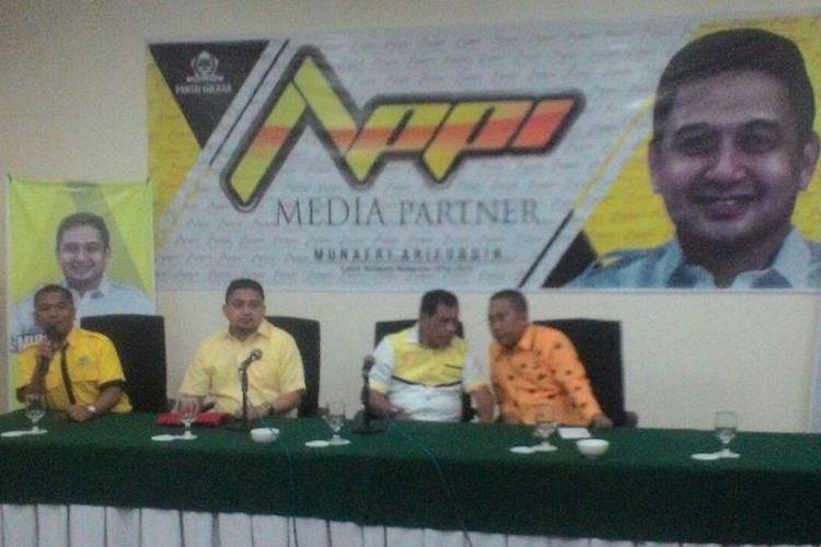 CEO PSM Makassar Munafri Arifuddin atau Appi ikut meramaikan Pemilihan Walikota Makassar 2018 mendatang.