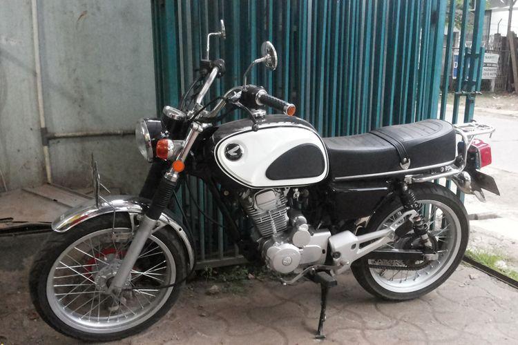 10 Motor Sport Naked Jadul Bahan Nostalgia Halaman All Kompas Com