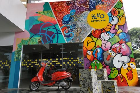 Yello, Hotel Penuh Mural yang Sediakan Galeri Pameran Gratis...