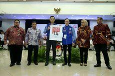 Absen di KPU, SBY Percayakan Pengambilan Nomor Demokrat kepada AHY dan Ibas