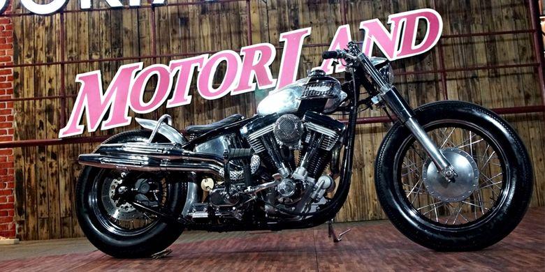 Harley-Davidson (HD) Softail, motor kustom terbaik di Bali