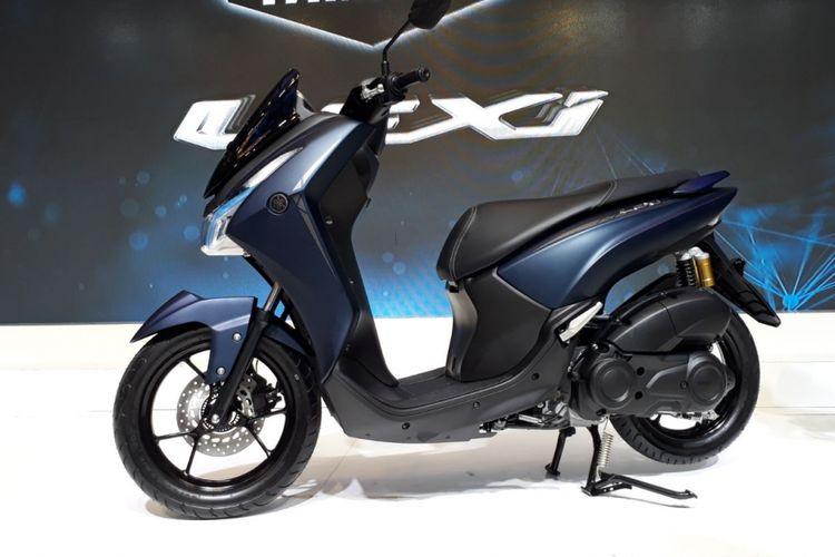 Yamaha Lexi tipe S. Ada tiga perbedaan spesifikasi dengan tipe standar.