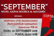 Novel 'September' Diperbincangkan di Gedung DPR