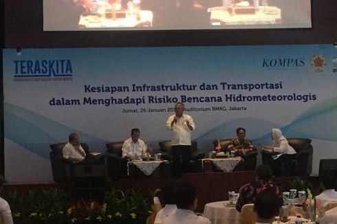 Ramalan Cuaca BMKG Dibutuhkan dalam Pembangunan Infrastruktur