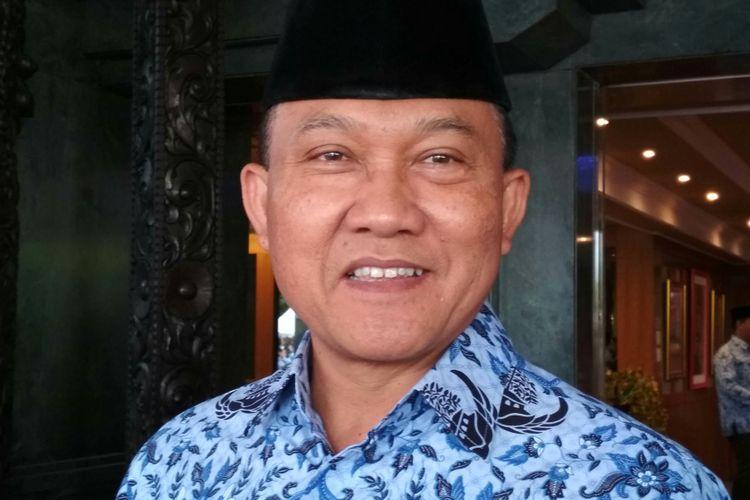 Direktur Jenderal Politik dan Pemerintahan Umum, Kementerian Dalam Negeri, Soedarmo Ketika Ditemui Dalam Peringatan Hari Lahir Pancasila, di Jakarta, Kamis (1/6/2017).