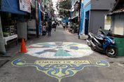 Menengok Mural Asian Games Karya Warga di Jalan Z Jati Pulo