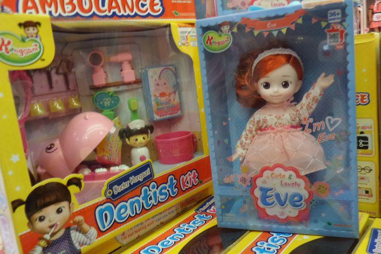 Salah satu mainan yang ada di Toys Kingdom.