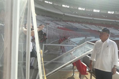Kerusakan Kawasan GBK Dipastikan Tidak Ganggu Asian Games