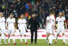 Hasil Liga Italia, AC Milan Tertahan, AS Roma Akhirnya Menang