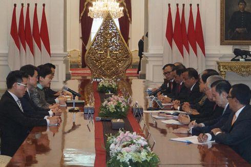 Kerjasama Ekonomi dan Hukum, Jokowi Terima Kepala Eksekutif Hong Kong