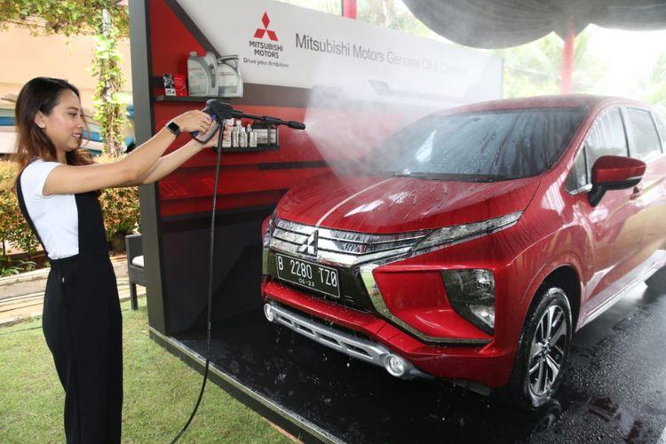 MMKSI memperkenalkan produk perawatan dan keamanan bagi produk kendaraan Mitsubishi