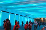 Instagramable, Terowongan Jalan Kendal Dipenuhi Pejalan Kaki yang Berfoto