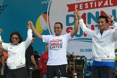 Sandiaga Sebut Dagangan Peserta OK OCE di Festival Danau Sunter Ludes Sejak Pagi