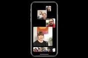FaceTime Terbaru Bisa 'Video Call' hingga 32 Orang