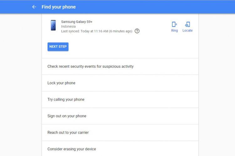 Cara membuka kunci ponsel Android yang lupa password