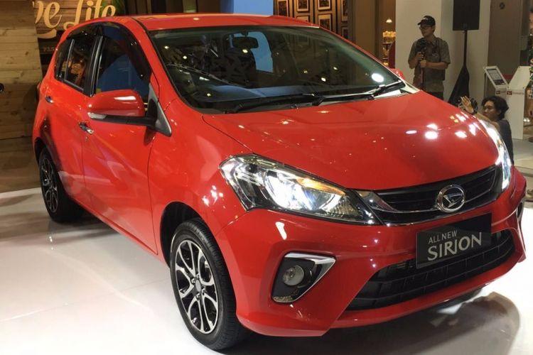 Peluncuran Daihatsu All-New Sirion di Jakarta