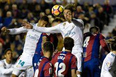 Hasil Liga Spanyol, Levante Tahan Imbang Real Madrid