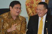 Ketua DPR Bambang Soestayo Vs Representasi Slogan 'Golkar Bersih'